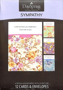 Boxed Cards Sympathy: In Gods Care
