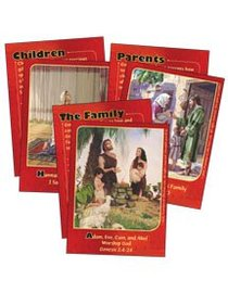 Dlc A1: Family Life With God Bible Cards Ages 6-8 (Discipleland Level 1, Ages 6-8, Qtrs Abcd Series)