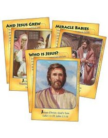 Dlc A3: Follow the King Bible Cards Ages 8-10 (Discipleland Level 3, Ages 8-10, Qtrs Abcd Series)
