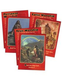 Dlc C1: Discovering Gods Greatness Bible Cards Ages 6-8 (At Worship With God (Discipleland Level 1, Ages 6-8, Qtrs Abcd Series)