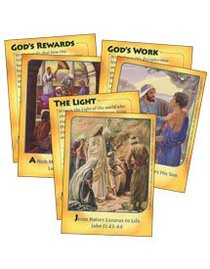 Dlc C3: Serving the King Bible Cards Ages 8-10 (Mighty Miracles) (Discipleland Level 3, Ages 8-10, Qtrs Abcd Series)