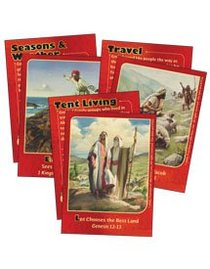 Dlc D1: Discovering Gods Greatness Bible Cards Ages 6-8 (Village Life With God (Discipleland Level 1, Ages 6-8, Qtrs Abcd Series)