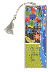 Bookmark With Tassel: Every Day is a Gift From God