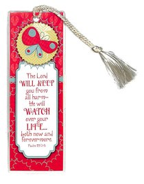 Bookmark Tassel: The Lord Will Keep You From All Harm...