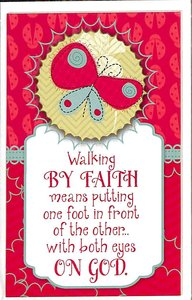 Simply Magnets: Walking By Faith...