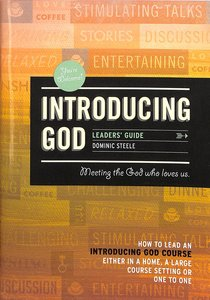 Introducing God (Leaders Guide)