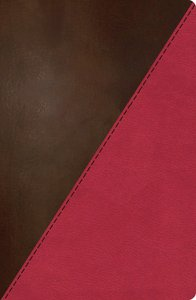 NKJV Study Bible Rich Raspberry/Rich Mahogany Indexed (Full-color Edition)