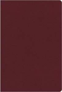NKJV Study Bible Burgundy Indexed (Full-color Edition)