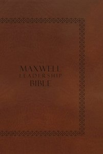 NKJV Maxwell Leadership Briefcase Edition, Revised and Updated Coffee