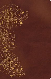 NKJV Compact Large Print Reference Bible Copper (Red Letter Edition)