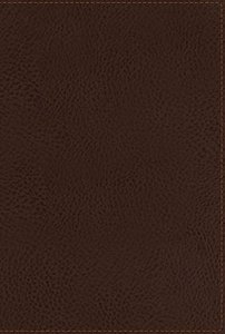 NKJV Compact Large Print Reference Bible Brown (Red Letter Edition)
