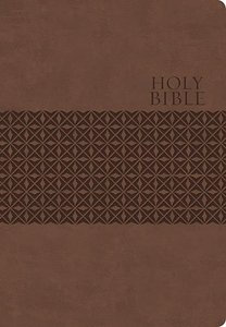 KJV Classic Personal Size Giant Print End-Of-Verse Reference Bible (Red Letter Edition)
