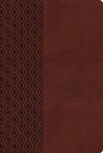 NKJV Center-Column Reference Bible Brown