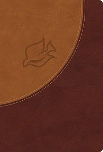 NIV New Spirit-Filled Life Indexed Bible Butterscotch/Auburn