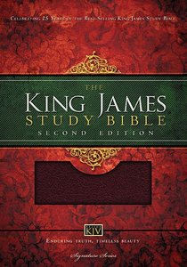 KJV Study Bible Burgundy (Second Edition)