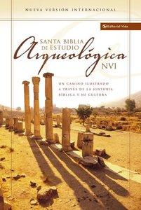 Nvi Biblia De Estudio Arqueologica (Red Letter Edition) (Nvi Archaeological Study Bible)