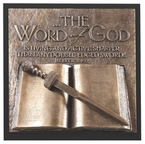 Word of God Moments of Faith Sculpture Plaque