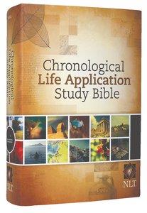 NLT Chronological Life Application Study Bible (Black Letter Edition)