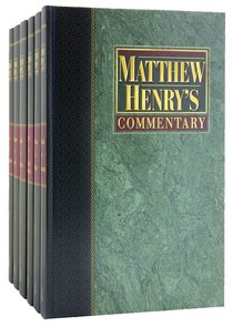 Matthew Henrys Commentary on the Whole Bible (6 Vols Set)
