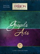 Tpt Passion Translation: Gospels And Acts (5-In-1 Collection)