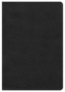 NKJV Large Print Ultrathin Reference Bible Black