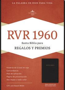 Rvr 1960 Biblia Para Regalos Y Premios, Negro (Black)