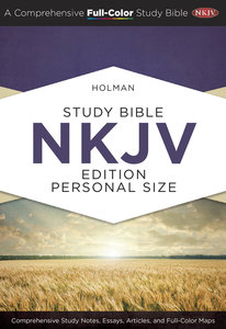 NKJV Holman Study Bible Personal Size