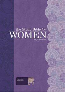 NKJV Personal Size Study Bible For Women Plum/Lilac
