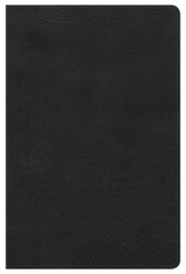 KJV Ultrathin Reference Indexed Bible Black