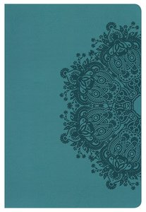 NKJV Large Print Personal Size Reference Bible Teal