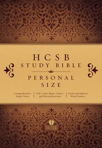 HCSB Study Bible Personal Size
