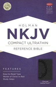 NKJV Compact Ultrathin Bible Charcoal