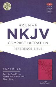 NKJV Compact Ultrathin Bible Pink