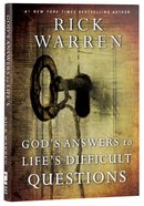 Gods Answers to Lifes Difficult Questions (Living With Purpose Series)
