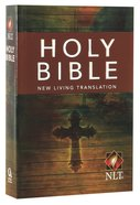 NLT Compact Bible Cross Paperback