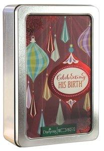 Christmas Tin Keepsake Boxed Cards: Josephine Kimberling Celebrating His Birth