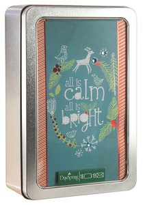 Christmas Tin Keepsake Boxed Cards: All is Calm, All is Bright - Amylee Weeks