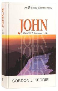 John Volume 1 (Evangelical Press Study Commentary Series)