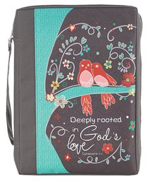 Bible Cover Value Large: Gods Love Eph. 3:17