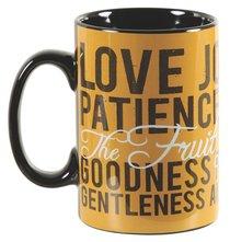 Stoneware Mug: Fruit of the Spirit
