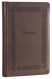 NIV Super Value Bible Brown (Black Letter Edition)