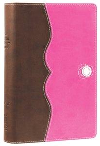 NIV Teen Study Bible Compact Chocolate Raspberry (Black Letter Edition)