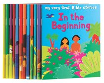 My Very First Bible Stories Little Library (12 Titles, Boxed Set)