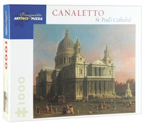Artpiece Puzzle: Canalettos St Pauls Cathedral 1000-Piece Jigsaw