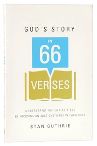 Gods Story in 66 Verses