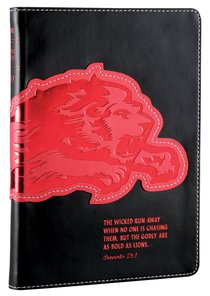 NLT Kids Slimline Bible Proverbs 28:1 Courage (Red Letter Edition)