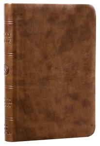 ESV Value Compact Bible Brown Trutone (Black Letter Edition)