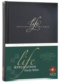 NLT Life Application Study Bible Special Limited Edition
