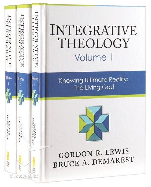 Buy Integrative Theology 3 Pack 3 Vols Set By Gordon R Lewisbruce