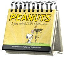 Daybrighteners: Peanuts, a Years Worth of Smiles and Blessings (Padded Cover)